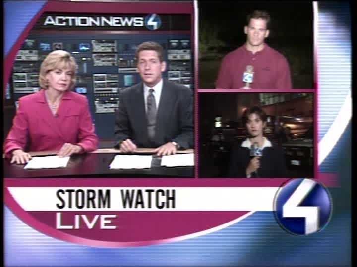 Sally Wiggin, Mike Clark, Ted Koppy and Michelle Wright in 1999