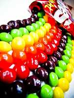 Skittles (1981) -- These colorful, sweet and juicy candies debuted in America in 1981. At that time, they sold for 88 cents per small bag. Most small bags still go for around 88 cents.