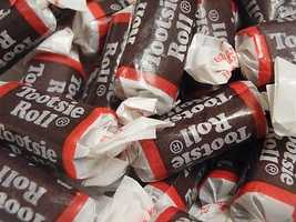 Tootsie Roll (1896) -- Large Tootsie Rolls sold for one penny each 115 years ago. Today, a 2.25-ounce package can be had for 99 cents.
