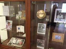 A memorial display was set up in the lobby of the City-County Building after the death of Sophie Masloff.