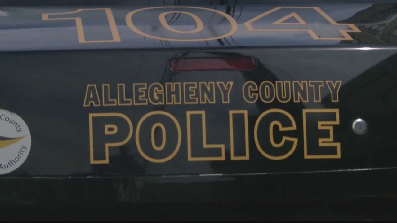 An Allegheny County police car.