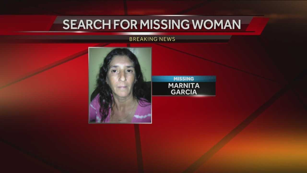 Police searching for missing woman in McClellandtown in Fayette County after 51 year old Marnita Garcia went missing.