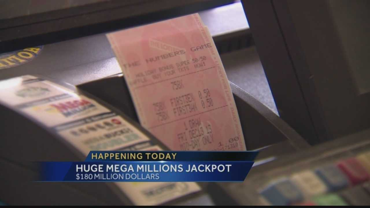 An estimated $180M is at stake tonight for the Mega Millions Jackpot. Pittsburgh's Action News 4's Matt Belanger has what you could potentially win.