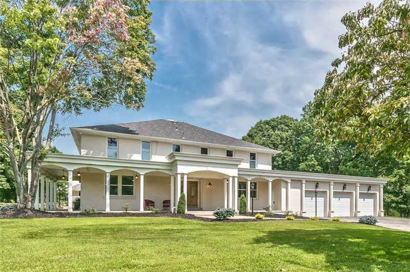 Location: 1602 Powers Run Rd, Fox Chapel, PAThis amazing home includes six bedrooms, seven bathrooms, and is situated on over 4 acres of land in Fox Chapel. The home is listed for $1.29M and is featured on realtor.com.