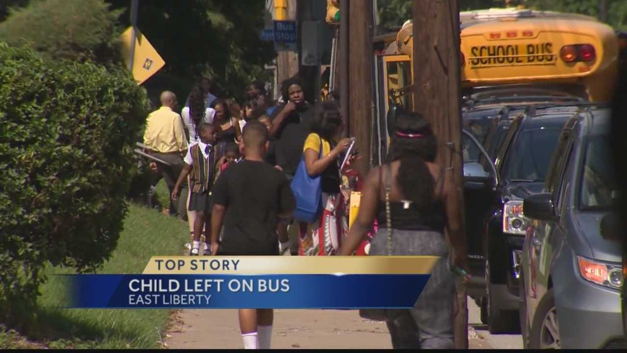 Pittsburgh's Action News 4's Courtney Fischer has the latest on this morning's incident in East Liberty where a charter school student was left behind on a school bus and wakes up later the bus transit garage.