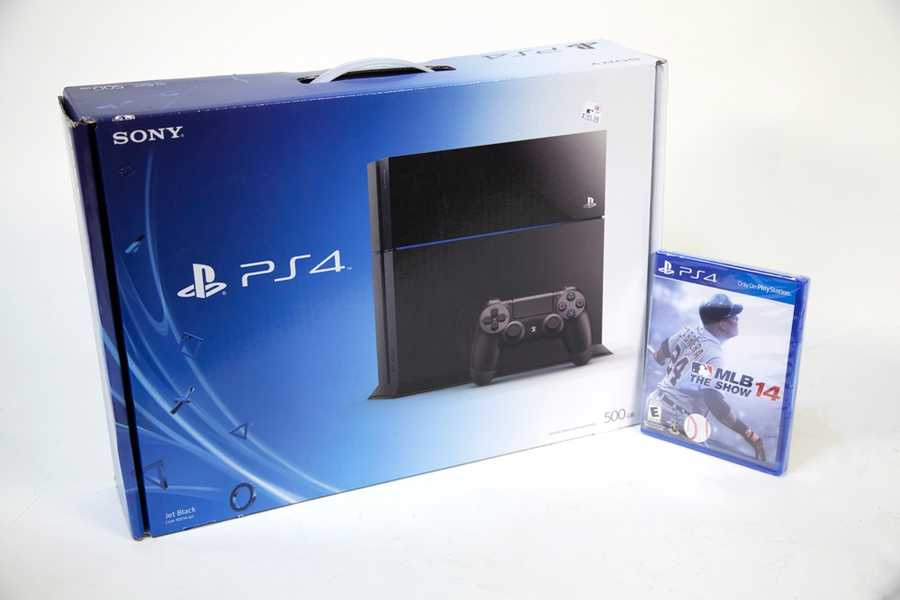 "PlayStation 4 with ""MLB The Show '14"" game, gifted by Kmart - CLICK HERE TO BID NOW"