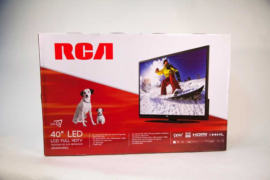 "RCA 40"" LED / LCD Full HDTV, donated by Kmart"
