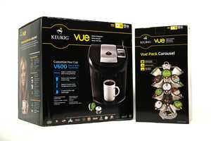 Keurig Brewing System & Kcup Carousel, courtesy of Macy's - CLICK HERE TO BID NOW