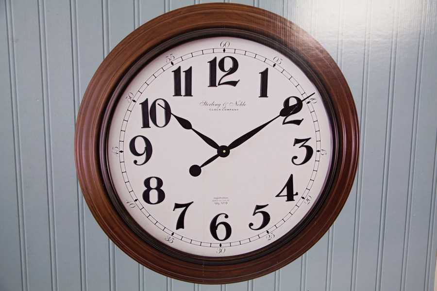 "30"" Classic Numeral Clock, graciously donated by Patti Campbell"