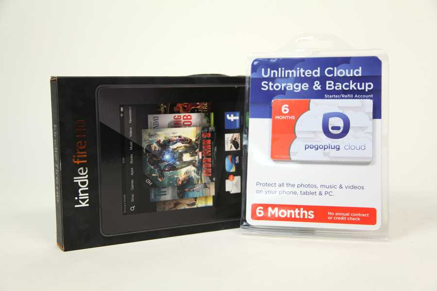 Kindle Fire HD with Cloud backup card, courtesy of The Allegheny Valley Corps of The Salvation Army