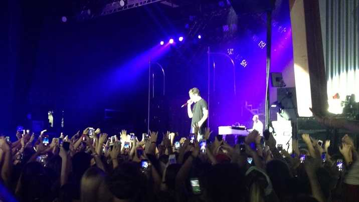 Austin Mahone performs at Stage AE in Pittsburgh on Aug. 26, 2014