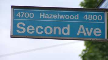 Second Avenue in Hazelwood