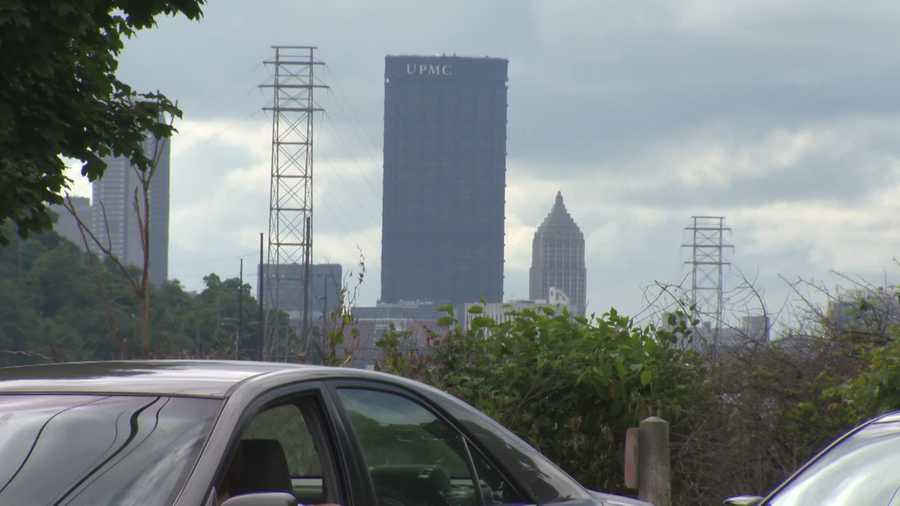 … with downtown Pittsburgh as a backdrop, and growing neighborhoods nearby, like Squirrel Hill and the South Side.