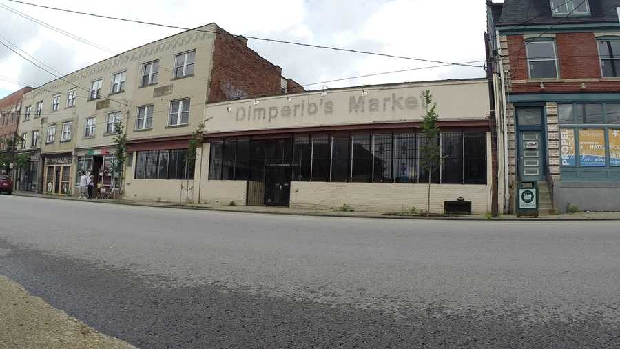 """The loss of Dimperio's Market left the Hazelwood neighborhood without a grocery store that sells fresh food. """"Hazelwood is a food desert,"""" resident John Burns says."""
