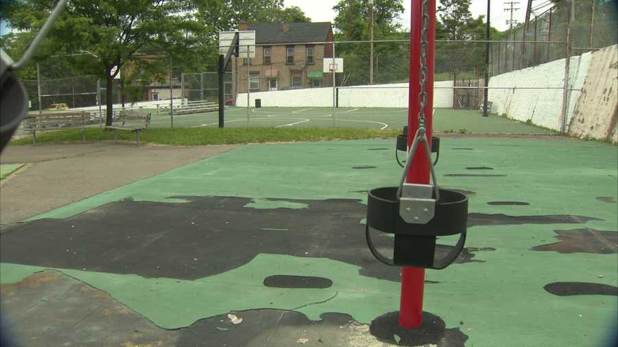 Lewis Playground in Hazelwood.