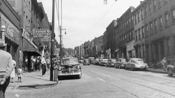 A look at the Hill District in the days when it thrived with small businesses.