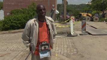 """""""I got eight years clean now, but I used to get my drugs up here,"""" said Bernard James, a 50-year resident of the Hill District."""