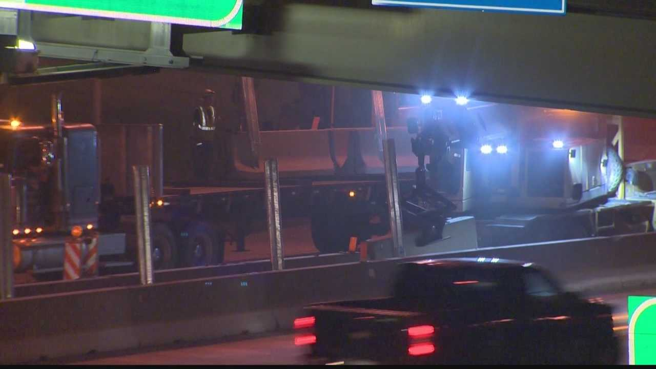 Pittsburgh's Action News 4's Courtney Fischer has the latest on the changes to Route 28 with the reconfiguration of traffic and access.