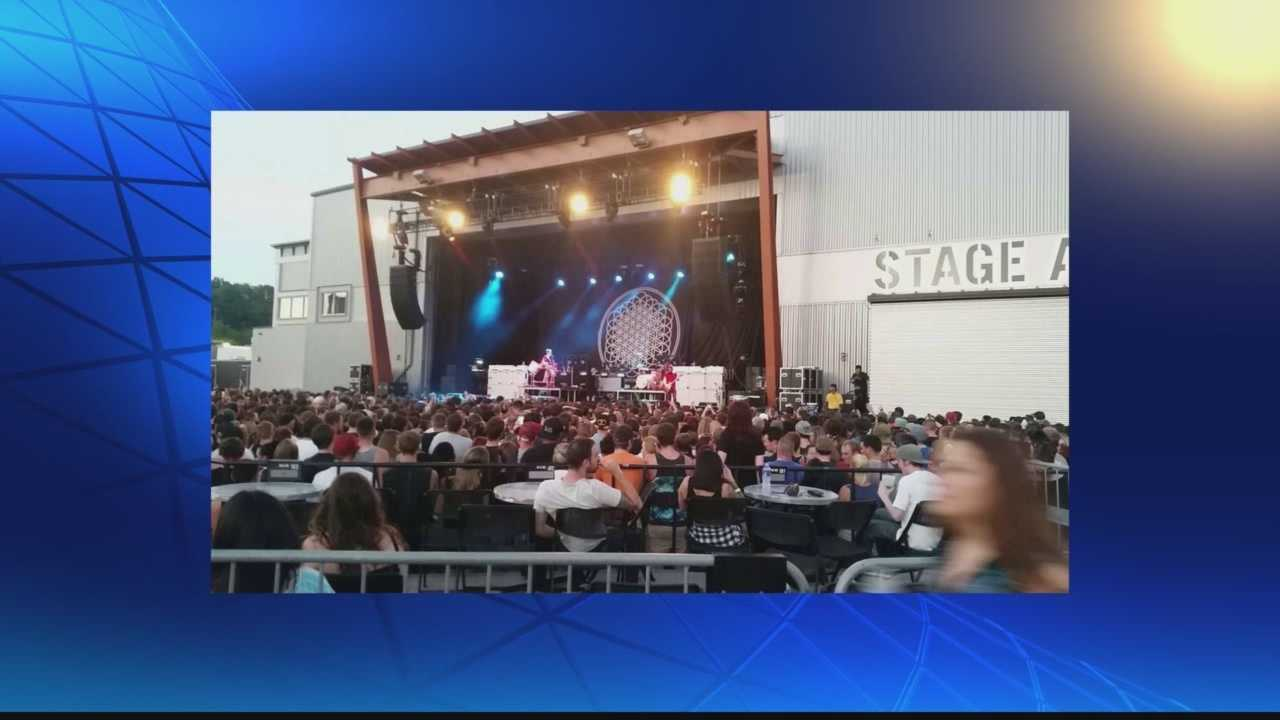 "Dozens of concertgoers were either sickened or injured during the ""Parks and Devastation"" show at Stage AE on the North Shore."