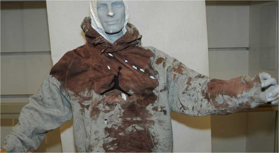 Jurors saw a mannequin dressed in the bloodied, bullet-riddled sweatshirt that Leon Ford wore on the night of his confrontation with police.