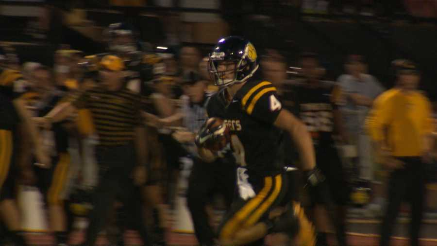 North Allegheny's Clay Byerly had a big game, including this 90-yard kickoff return for a touchdown.