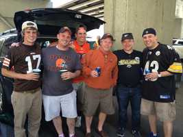 Check out some of the photos from the tailgaters, fans inside Heinz Field and more as the Pittsburgh Steelers take on the Cleveland Browns. Send us your photos to Ulocal@Wtae.com or via WTAE Mobile App