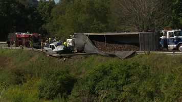 The crash scene is on Seneca School Road in Butler County.