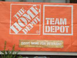 Team Depot, The Home Depot's associate-led volunteer force, will renovate the home of local Army veteran Harold Saunders in partnership with Rebuilding Together to ensure Harold has a safe and comfortable place to call home. Repairs will include updates to the exterior of the home and installation of new fixtures to make the home inhabitable for his family.