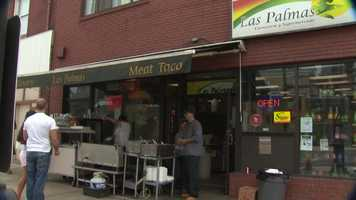 Las Palmas has quickly become a popular spot in the Brookline Boulevard shopping district.