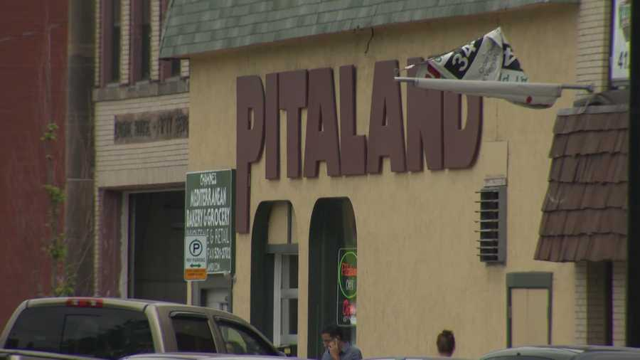 Just a couple of doors away sits Pitaland, a store that specializes in authentic Mediterranean groceries.