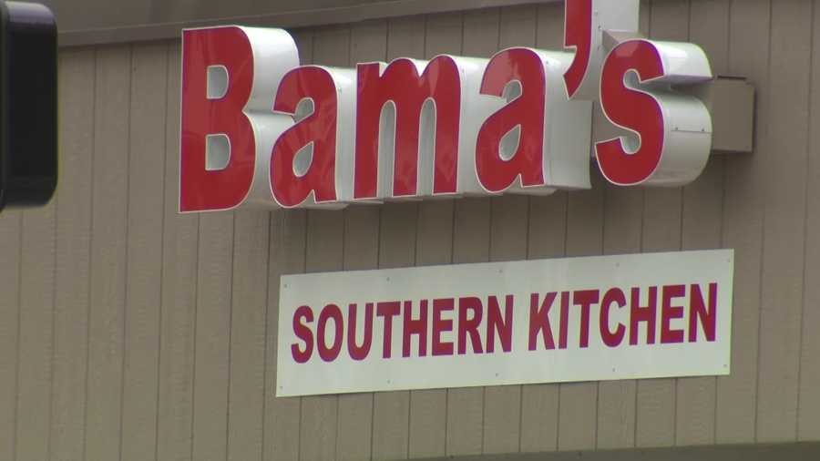 Bama's Southern Kitchen is another new addition to the Brookline Boulevard business district.