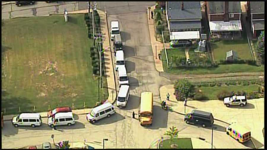 Pittsburgh West Liberty, Pittsburgh South Brook and Pittsburgh Pioneer schools were evacuated because of a phone threat.