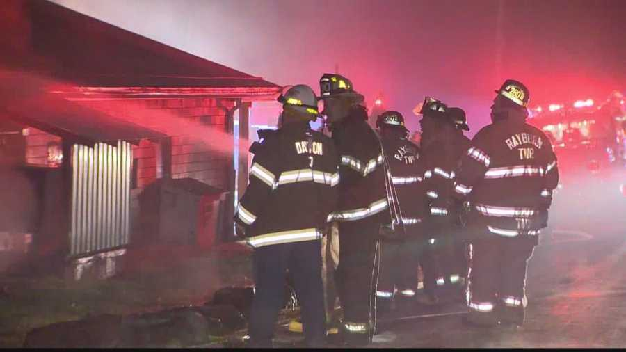 Flames tore through a meat processing plant and caused extensive damage early Wednesday morning in Wayne Township, Armstrong County.