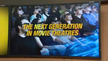 The theater will feature a Cinemark XD: Extreme Digital Cinema auditorium and seven of the auditoriums will be RealD 3D capable.