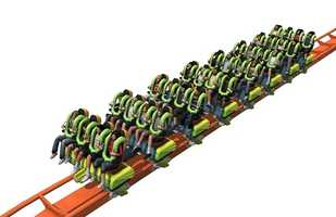 Cedar Point says the Rougarou will open in the spring of 2015.