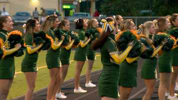 Carlynton High School cheerleaders