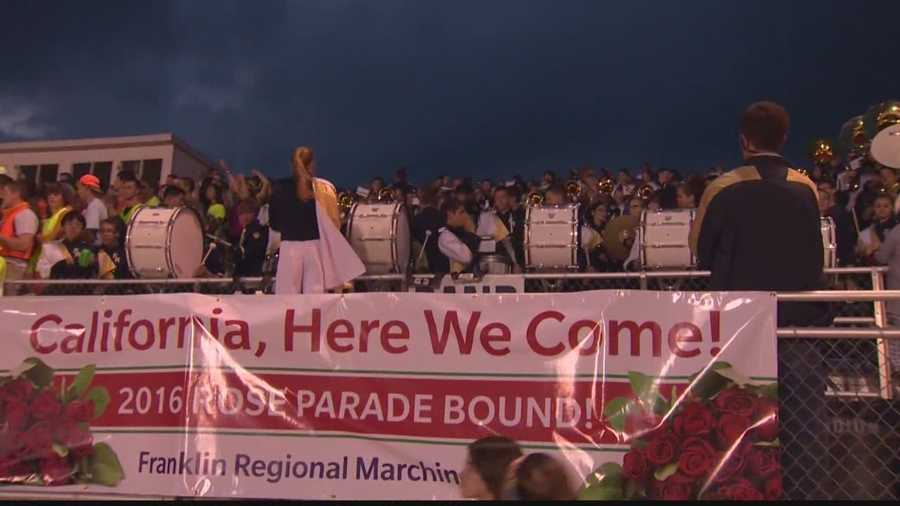The Franklin Regional Marching Band
