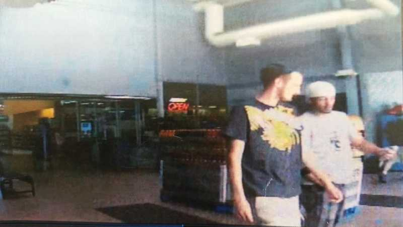 State police want to identify these people in connection with the use of a stolen bank card at Walmart in Mount Pleasant, Westmoreland County. Police say the card was stolen from a vehicle in Fayette County after a window was broken with a rock.
