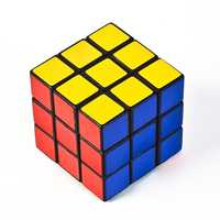 Rubik's CubeInvented in the early 1970s by a Hungarian lecturer, the three-dimensional Rubik's Cube satisfies a kid's sense of intrigue and inspires serious mathematicians. The colorful cubes can be arranged 43 quintillion (a number with six commas) ways and have inspired organized competitions across the globe. In 2014, a Canadian competitor set a world record by completing a Rubik's Cube in 12.56 seconds.