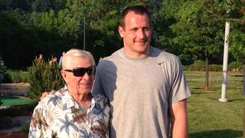 Joe DeNardo still helps raise money for Project Bundle-Up through charitable events like the Heath Miller Mini-Golf Classic, hosted by the Pittsburgh Steelers' tight end.