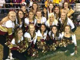 New Brighton cheerleaders