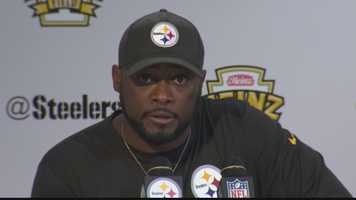 "Mike Tomlin: ""The bottom line is we're an undisciplined group. We're too highly penalized. Obviously we're not coaching it, but we're allowing it to happen, so I take responsibility for that."""