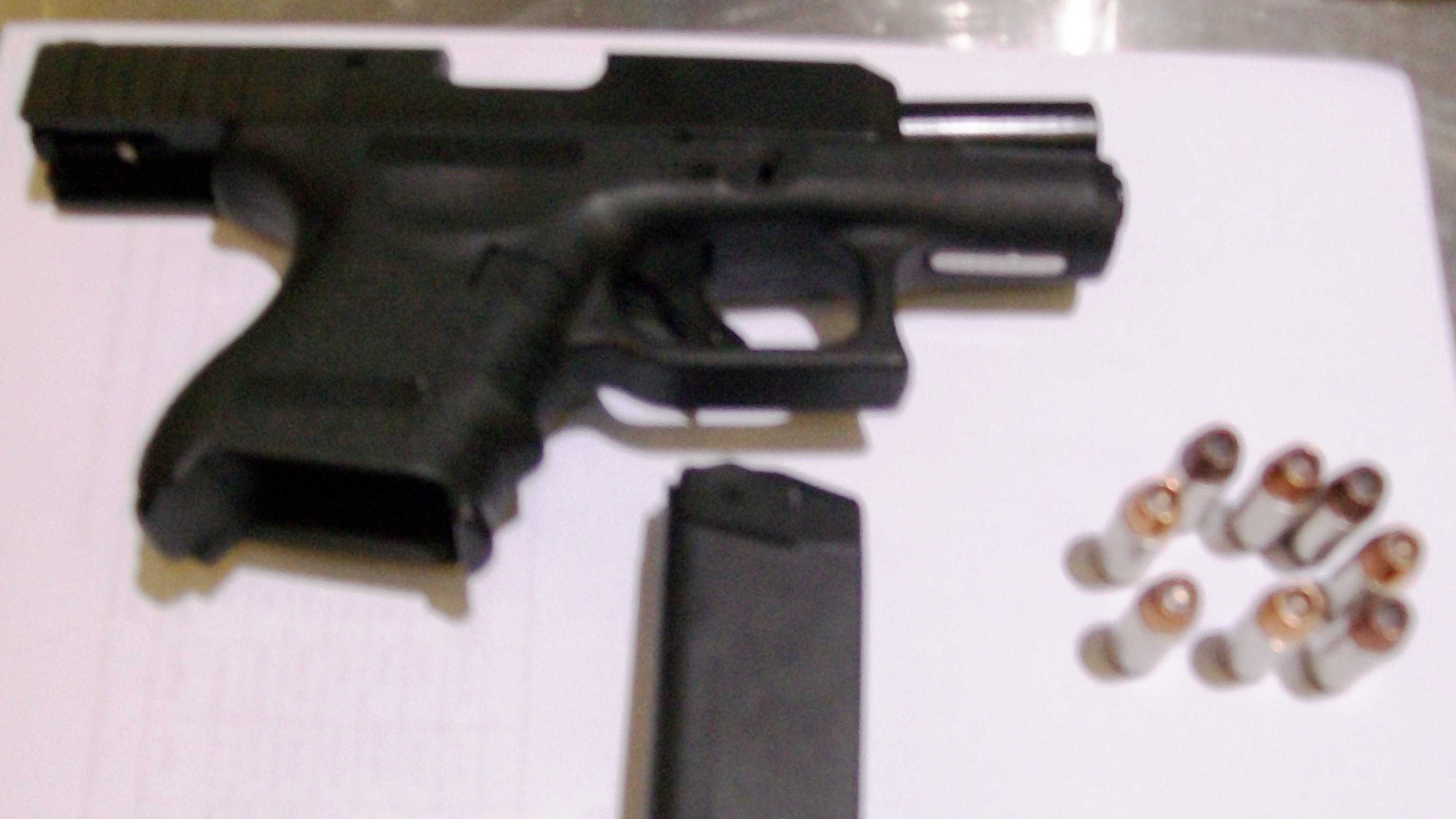 This .40 caliber semi-automatic handgun was detected in a traveler's carry-on bag at BWI Airport yesterday (September 29th). The man was arrested on a state weapons charge.