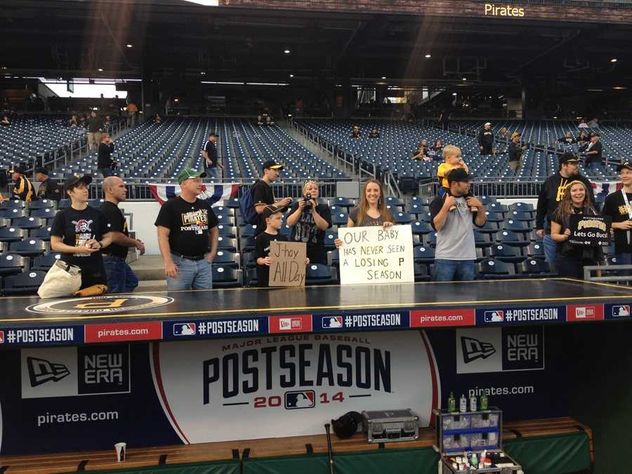 Pirates fans are ready for the NL Wild Card Game.