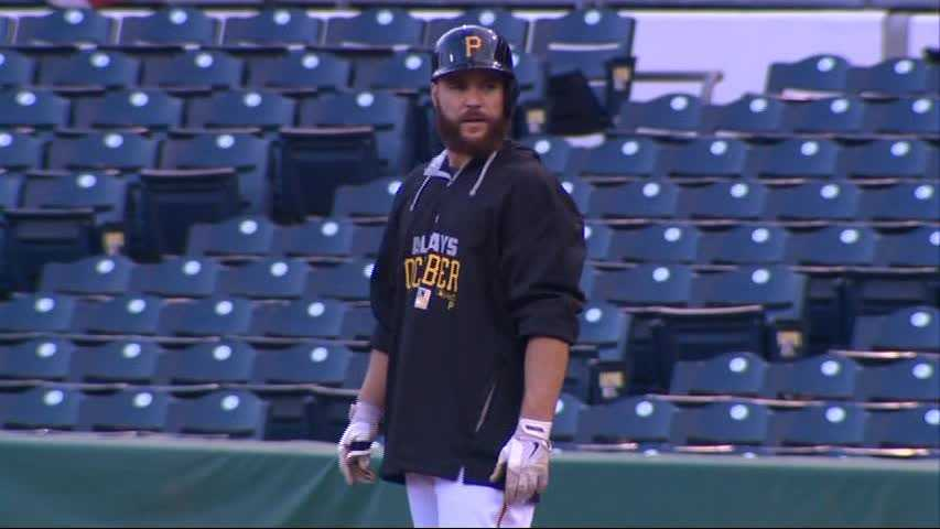 Pittsburgh's wild-card loss to San Francisco was the last game for Russell Martin with the Pirates.