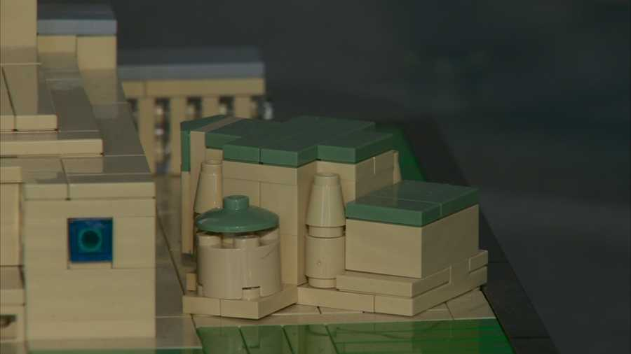 Lego Cathedral of Learning