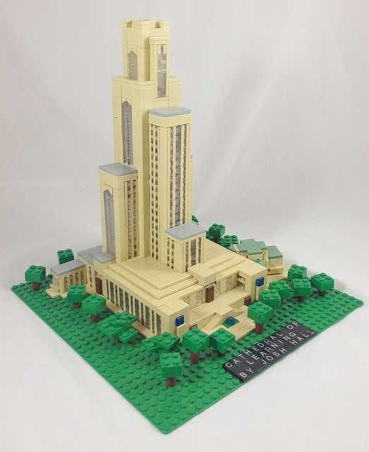 The Cathedral of Learning, as seen on Blog of Josh Hall.