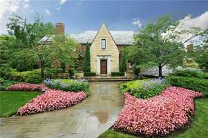 Location: 5564 Northumberland St, Squirrel Hill, PAThis amazing Squirrel Hill home includes three bedrooms, eight bathrooms, a gourmet kitchen, indoor pool with cabana area and much more. The home is listed for $3.5M and is featured on realtor.com.