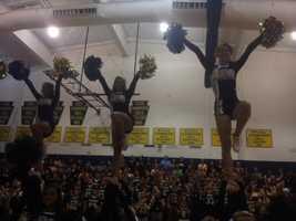 Norwin High School cheerleaders