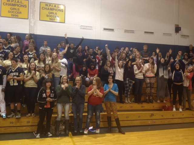 Norwin High School students